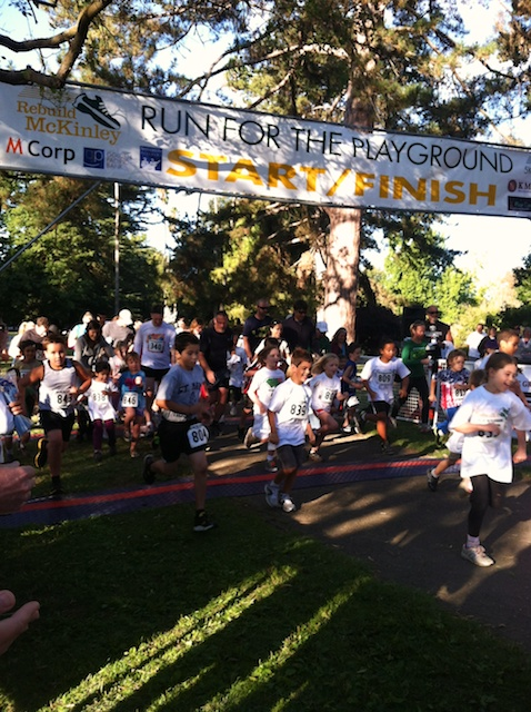McKinley Race Kids run