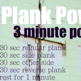 The Power of the Plank (1)